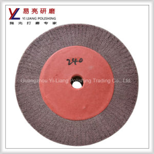 Nylon 12 Inch Flap Buff Wheels for Flat Grinding pictures & photos