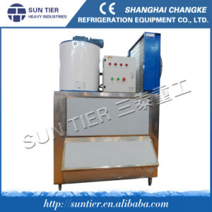 2200kg/Day Hockey Stick Composite Flake Ice Machine pictures & photos
