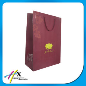 Recycled Custom Design Paper Carrier Bag for Gift Packaging pictures & photos