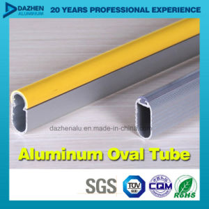 Factory Direct Sale Oval Round Tube Aluminum Profile Customized Size pictures & photos