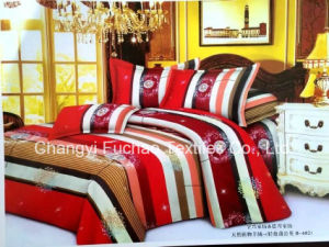 Factory Sells Home Textile Supplier Duvet Cover 100% Cotton Bedding Set Home Textile pictures & photos