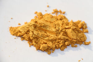 Chesir Satin Gold Pearl Pigment for Plastic PVC (QC302)
