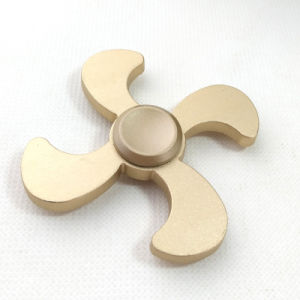 2017 Newest 4 Leaf Fire Wind Fidget Hand Spinner pictures & photos