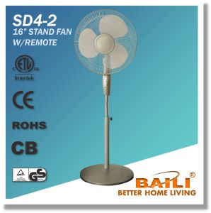"""Popular 16"""" Oscillating Cooling Stand Fan with Remote Control pictures & photos"""