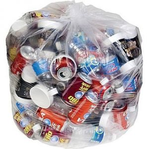 Custom 33*39 33gal 100count Large Plastic Garbage Bag pictures & photos