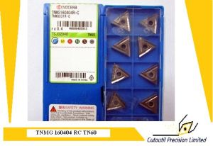 Kyocera Tnmg160404 RC   Tn60  Turning  Insert for Turning Tool Carbide Insert pictures & photos