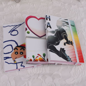 A5 Printing Hardcover Paper Notebook with Elastic Band pictures & photos