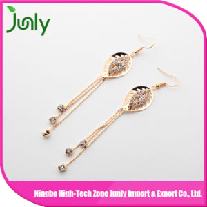 New Style Earrings Women Leaf Cheap Earrings Made in China pictures & photos