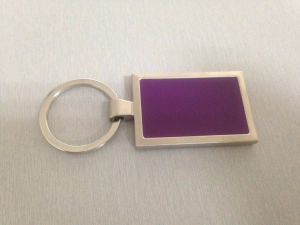 3D Colorful Metal Keychain, Printing Key Ring (GZHY-YSK-0020) pictures & photos