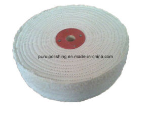 300mm White Stitch Cotton Buffing Polishing Wheel for Metal pictures & photos