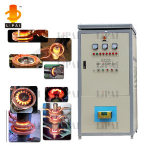 Fast Motor Shaft Heating with IGBT Induction Forging Furnace pictures & photos
