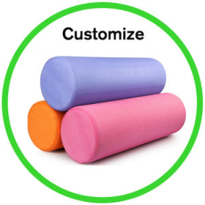 Custom Gym Ball Exercise Foam Roller Yoga Wheel pictures & photos
