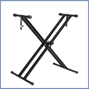 Factory Price Double X-Style Keyboard Stand pictures & photos