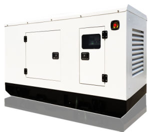 50Hz 35kw Soundproof Diesel Generating Set Powered by Chinese Engine (DG44KSE)
