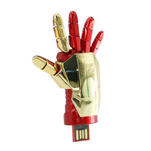 Iron Man Glove USB Stick Marvels Pen Drive Avengers Pendrive pictures & photos