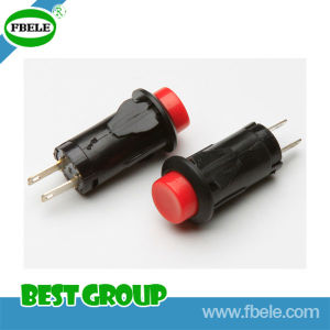 off- (ON) 12mm Embedded Push Button Switch (FBELE) pictures & photos