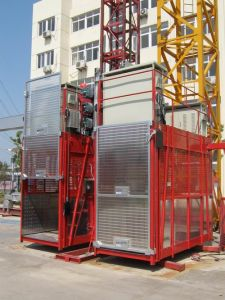 Capacity 1 Ton and 2 Ton Rack and Pinion Elevator pictures & photos