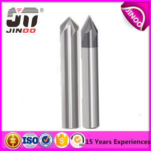 CNC Drill Bit Tungsten Carbide Double Head 2 Flute Center Drill Bit pictures & photos