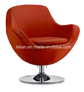 Modern Furniture Swivel Cashmere Wool Chair Replica Pony Skin Chair (LL-BC062) pictures & photos