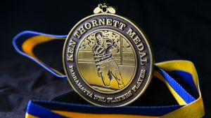 Customized 3D Logo Metal Medals with Ribbon pictures & photos