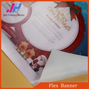 Frontlit Glossy Flex Banner for Outdoor Advertising pictures & photos