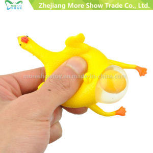 Hot Sell Halloween Vent Chicken Laying Egg Keychain Tricky Toys for Fun pictures & photos