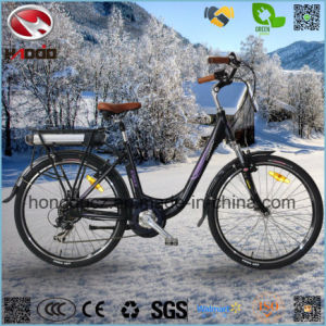 Alloy Frame 250W Cheap Electric City Road Bike pictures & photos