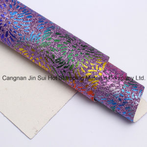 Muti Colors Stamping for PU PVC Leather pictures & photos