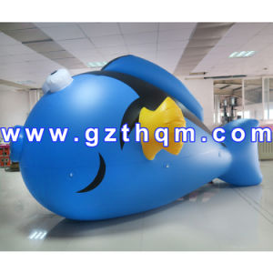 Inflatable Flying Helium Fish/Inflatable PVC Goldfish Balloon pictures & photos
