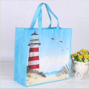 Reusable Grocery Tote Shopping Gift Book Promotion Logo Printed Non Woven Bag pictures & photos