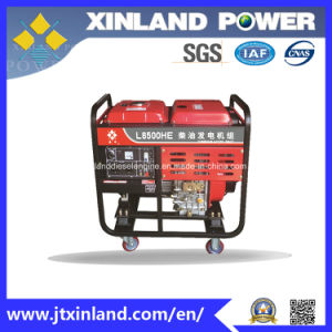 Single or 3phase Diesel Generator L8500h/E 50Hz with ISO 14001 pictures & photos