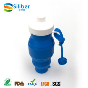 New Products 2017 Outdoor Sport Bottle Silicone Foldable Water Bottle pictures & photos