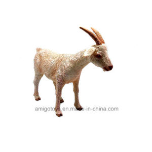 Customized Simulation Zoo Animal Toys Goat Toys for Children Playing and Bedroom Decoration pictures & photos