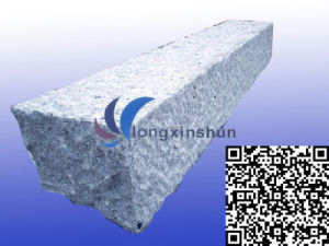 Chinese Picked Grey Granite Kerbstone pictures & photos
