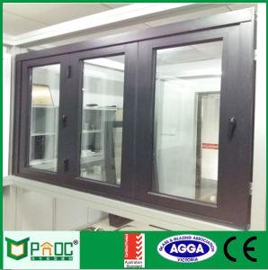 Australian Standard Double Glazed Aluminum Frame Bi Fold Window Pnoc110405ls pictures & photos