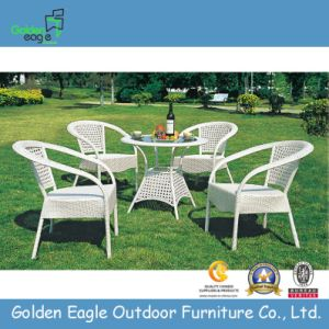 Garden Outdoor Patio Dining Furniture Table with Chairs
