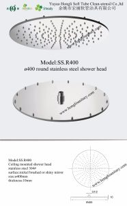 Stainless Steel 304# Rainsky Ceiling Mounted Shower Heads pictures & photos