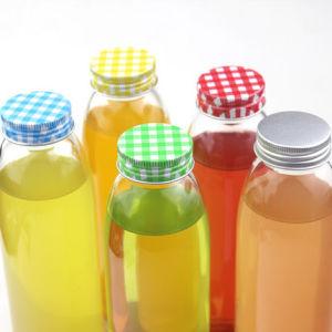 ISO Certified 450ml Beverage Glass Bottles for Juice, Milk, Water Glass Bottls Drinking pictures & photos
