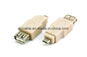 USB2.0 a Male to Micro 5pin Adapter pictures & photos