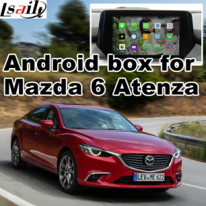 Android GPS Navigation System Box for Mazda 6 Atenza Mzd Connect Video Interface pictures & photos