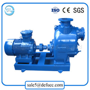 Self Priming Centrifugal Electric Motor Driven Drainage Pump pictures & photos