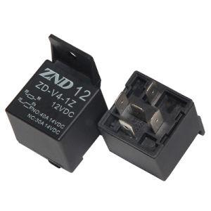 5 Pins Black Cover Automotive Relay 40A 12V 1z Auto Parts pictures & photos