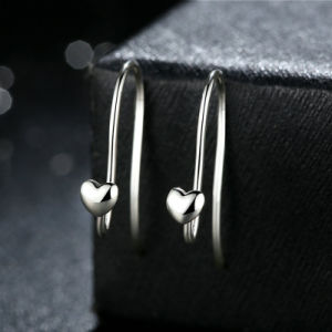 925 Stering Silver No Stone Silver Earring pictures & photos