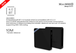 2016 Hot Mini M8s II S905X 2g 8g Android TV Box pictures & photos