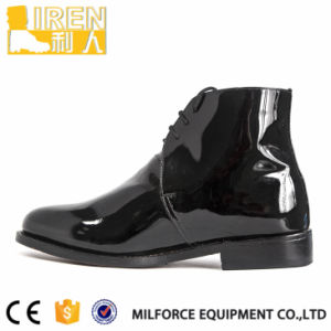 New Design Army Dubai Police Formal Dress Shoes pictures & photos