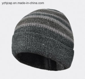 Jacquard Beanie Hat Knit Hat POM POM Knitted Hat pictures & photos