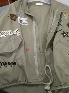 New Style, Army Green, Patch, Embroidery, Bead, Fashion Wear, Clothing pictures & photos