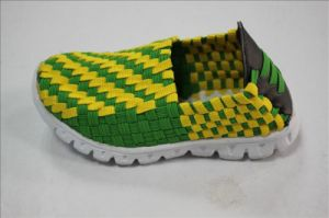 Children Woven Shoes pictures & photos