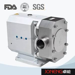 Stainless Steel Tri Lobe Sanitary Rotary Pump pictures & photos