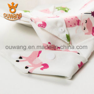 Personalized Custom Cute Printed Baby Bandana Teething Baby Bibs pictures & photos